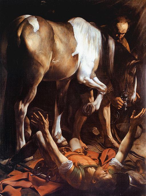 512px-Caravaggio_-_La_conversione_di_San_Paolo