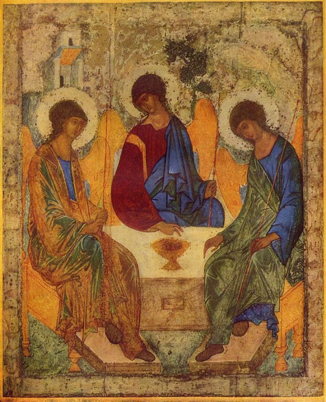 Andrej Rublëv's icon of the Trinity